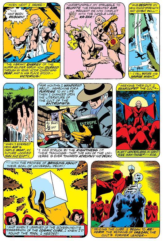 Un lourd passif  © Marvel Comics