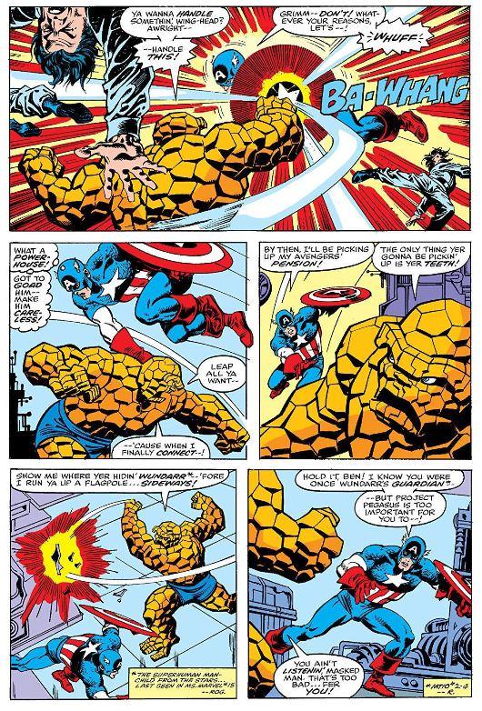Du Sal Buscema d'époque  © Marvel Comics