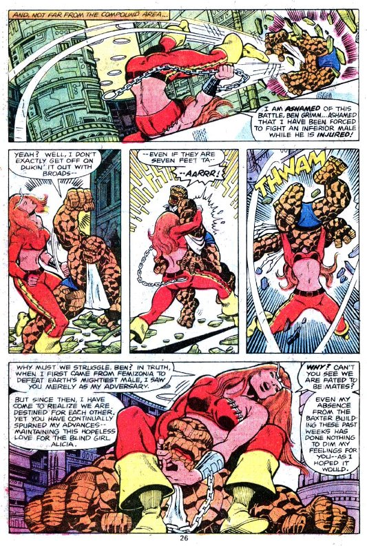 Catch mixte  © Marvel Comics