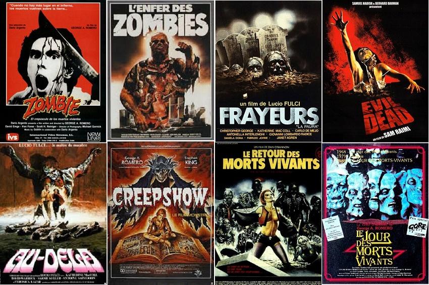 La folie des zombies! © Filmedia, Artus Films, TF1 Vidéo, Sony Pictures, Le Chat Qui Fume