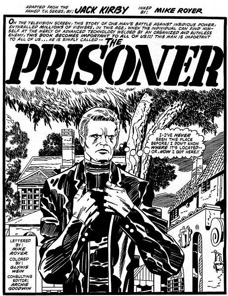 McGoohan un super héros pas comme les autres.  © Titans Comics