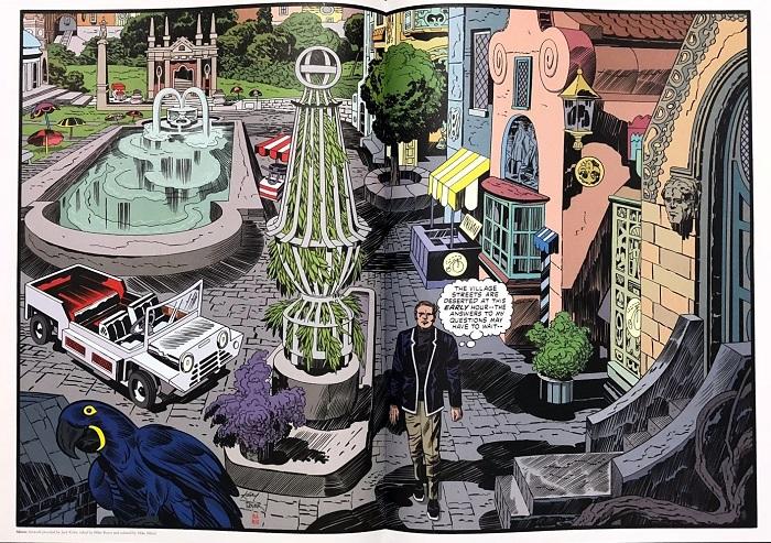 La seule page en couleur totalement finalisée. Avouez que c'est rageant (surtout pour le prix) !  © Titans Comics