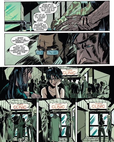 Un médecin qui apprend la compassion et l'altruisme  ©Marvel comics