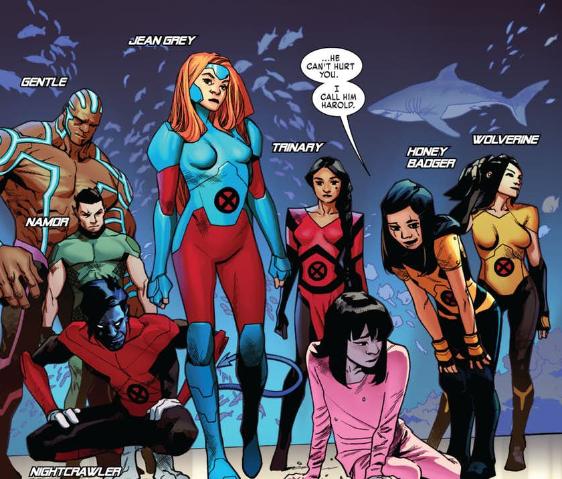 Des nouveaux mutants sans envergure et des anciens sans paroles. C) Marvel Comics