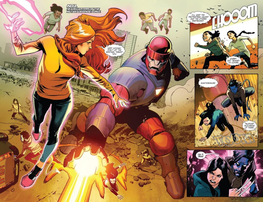 Des combats inoubliables... C Marvel Comics