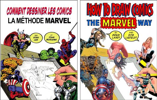 How to draw the Marvel way (et sa parodie)   Marvel Comics