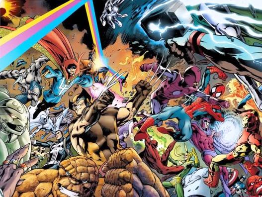 Des super-héros à la pelle: normal, pour un artiste né un 18 juin?   Marvel Comics