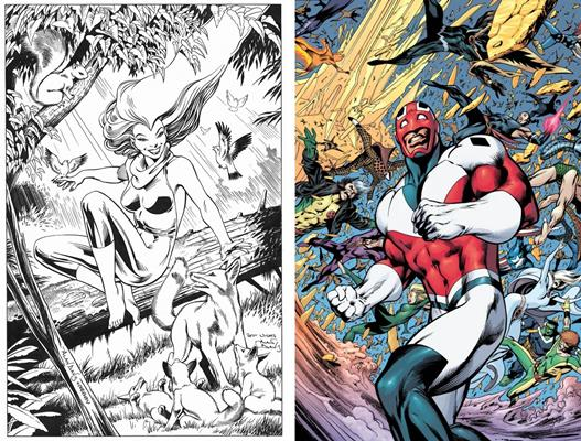 Meggan Puceanu & Brian Braddock   Marvel Comics