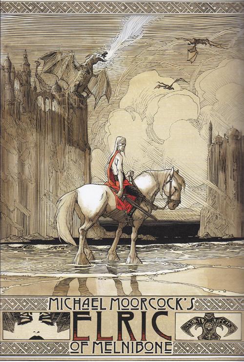 L'illustration de Oliver Vatine qui apparaît dans les bonus du tome 3  (C) Glénat