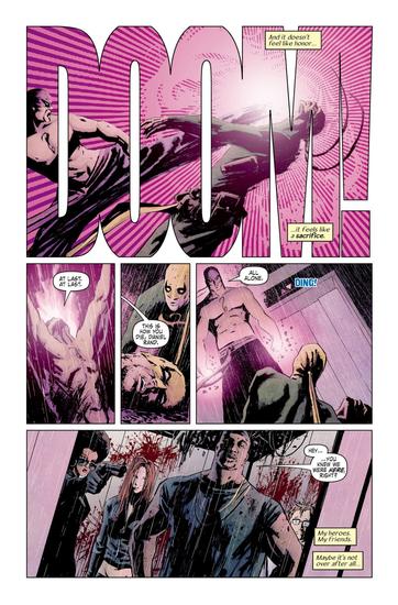 Iron Fist et ses copains auront des soucis face au serpent d'acier  ©Marvel comics