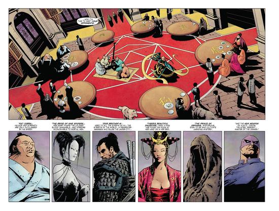 Les six autres armes immortelles  ©Marvel comics
