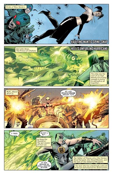 L'Hydra contre les armes immortelles. Euh…ce n'est pas très équilibré.  ©Marvel comics