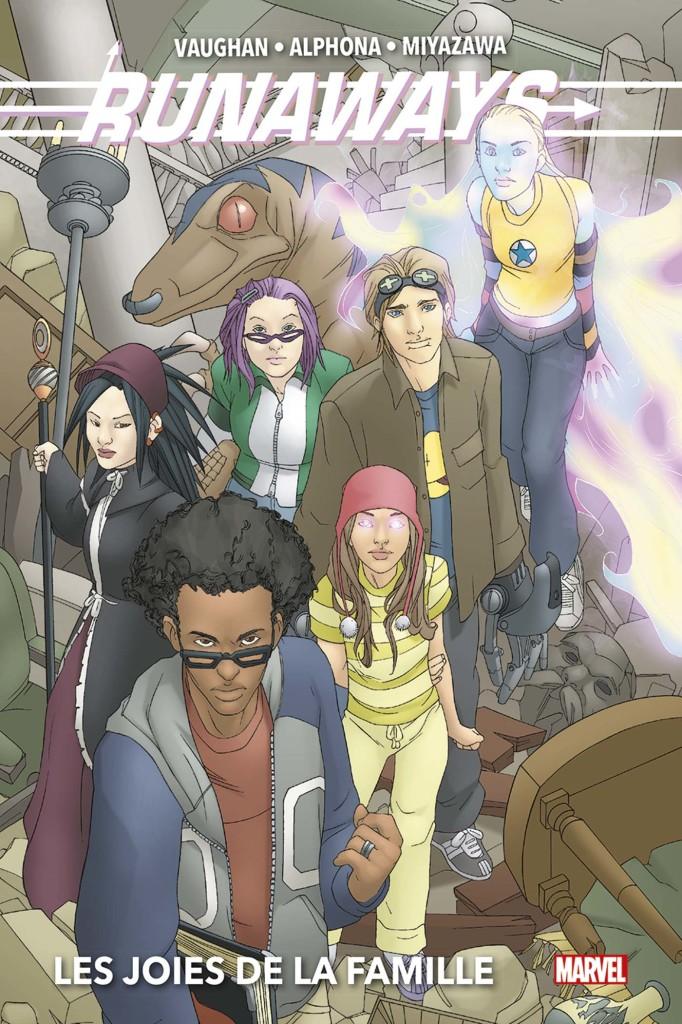 Les Fugitifs : Jeunes, rebelles et apprentis super-héros ! ©Marvel Comics ©Panini Comics
