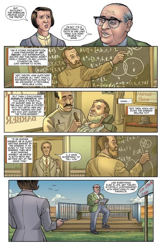 Le paradoxe de Russell  © DC Comics / Hanna-Barbera