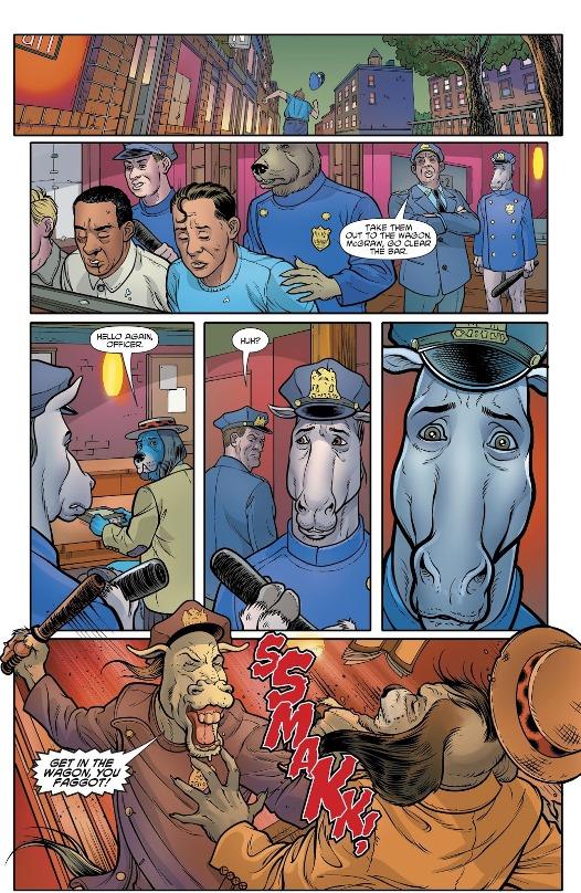Répression et lâcheté ordinaires © DC Comics / Hanna-Barbera