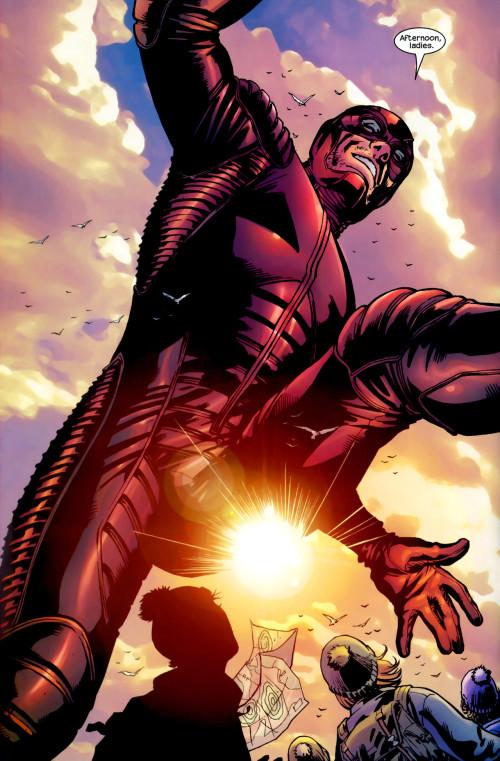 Une contre plongée pour un sexe solaire... (c) Marvel Comics