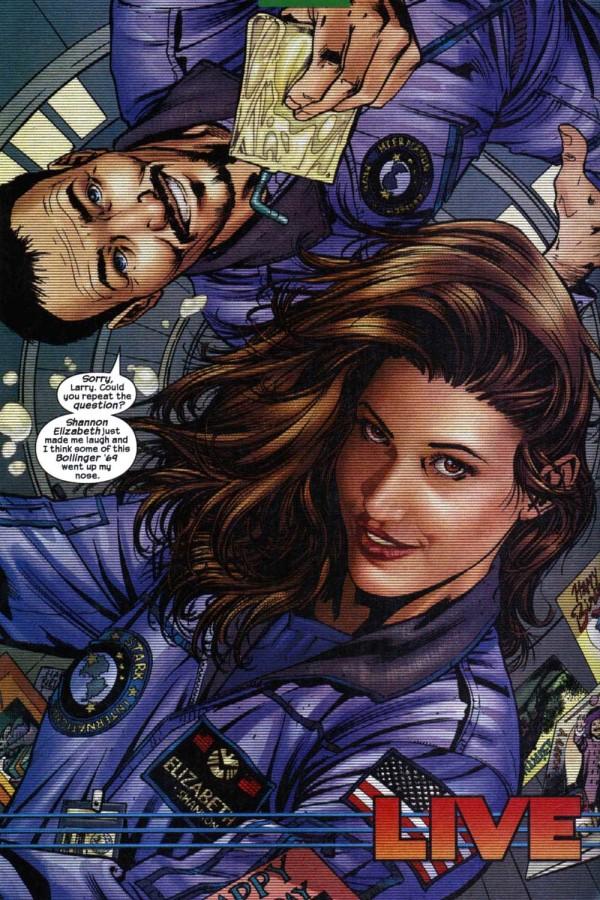 Une actrice portée disparue désormais... (C) Marvel Comics