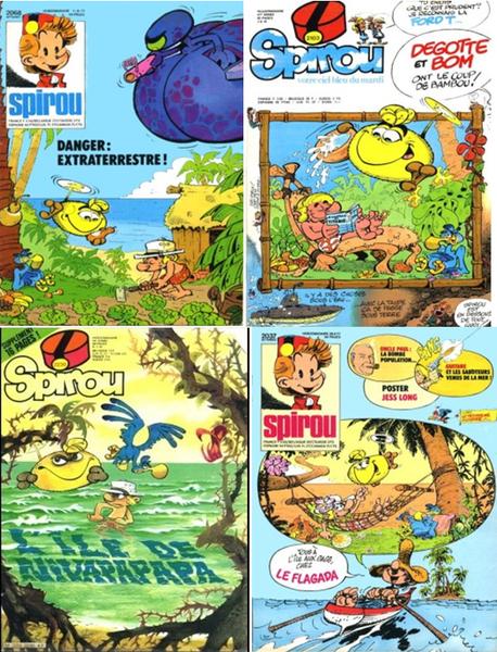 Eh oui, on parle encore de publications Spirou. Parce que c'était génial ! ©Dupuis