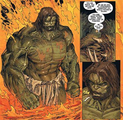 La mode du Badass ne doit pas faire oublier ce détail majeur : le slip de Hulk est ignifugé !  © Marvel Comics
