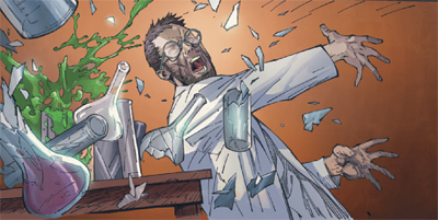 Le clin d'oeil plus qu'appuyé à RE-ANIMATOR ? Check ! ©Marvel Comics