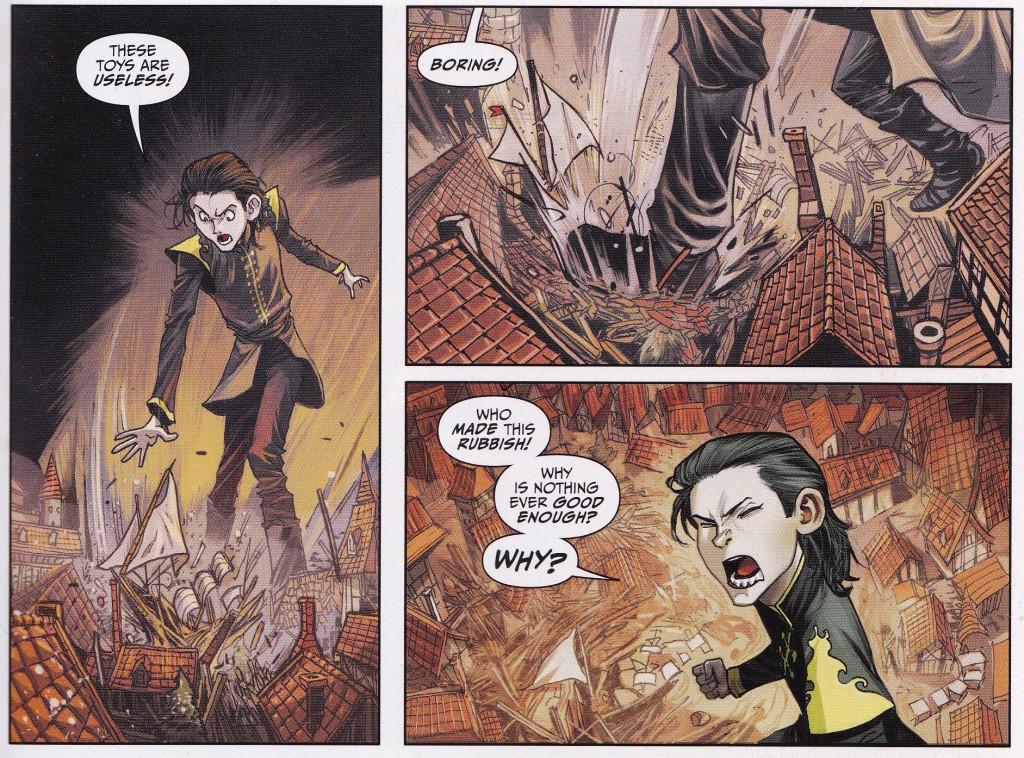 Comme un air de Damian Wayne (?) (C) Glénat / Boom !