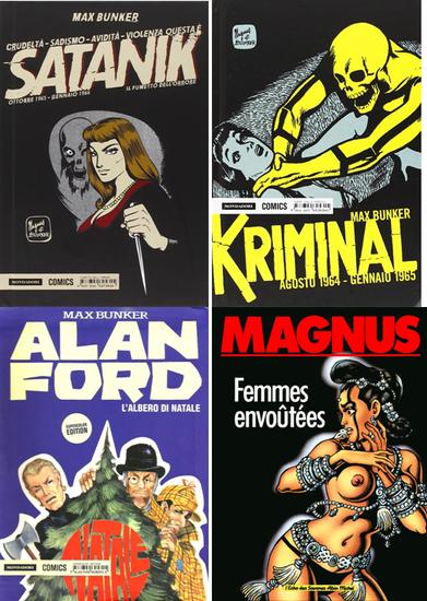 Les créations méconnues de Magnus  © Mondadori Comics ©Albin Michel
