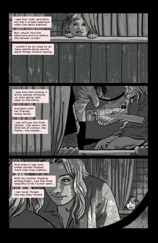 Le premier souvenir associé à la drogue © Image Comics