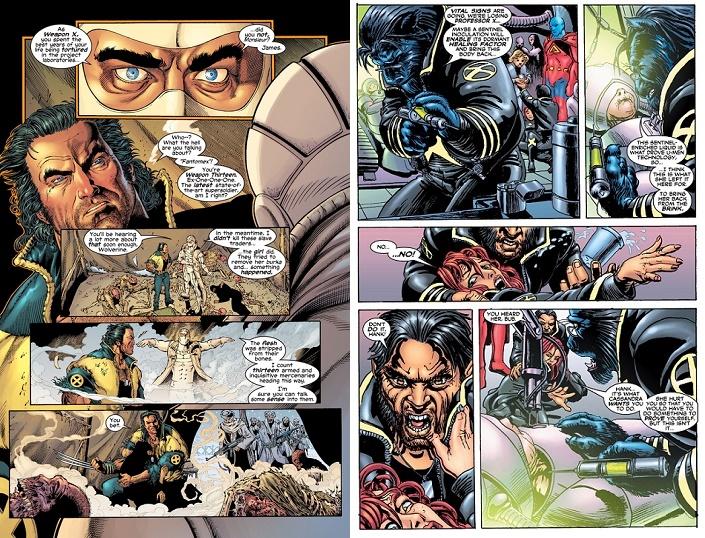 Ethan Van Sciver puis Igor Kordey: La valse des dessinateurs… et des styles. © Marvel Comics