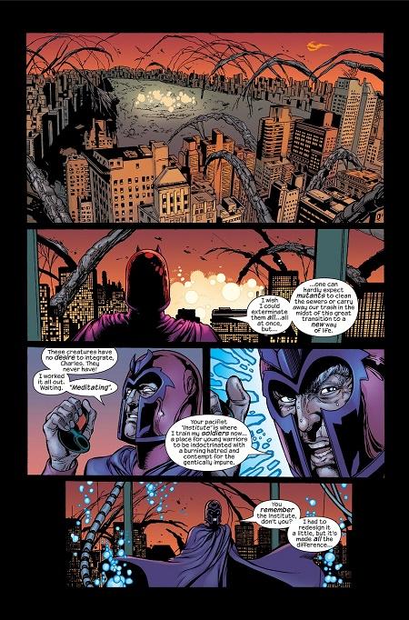 Une magnifique idée: Transformer New York en une ville mutante! © Marvel Comics