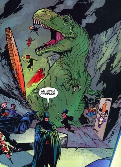Alfred n'a jamais été fichu d'y mettre de l'ordre. © DC comics