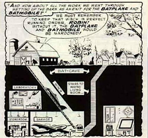 Un peu cheap et rapiat, au départ. Mais c'est ça, aussi, l'effet Bob Kane. © DC Comics