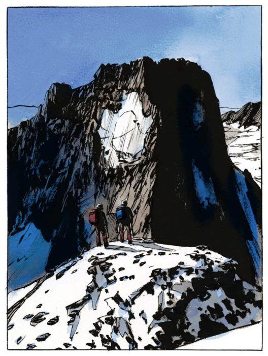 Partager les sommets à deux  © Casterman
