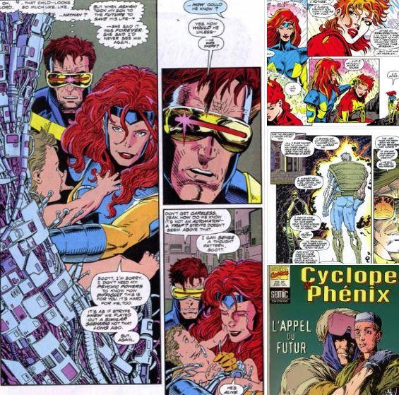 Avec Scott Lobdell, la lignée Summers-Grey est enfin réconciliée. (C) Marvel Comics