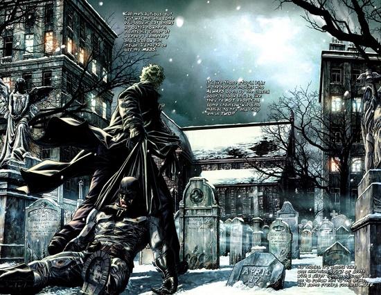 Même la nuit de Noël, Batman peut compter sur son meilleur ennemi… © DC Comics
