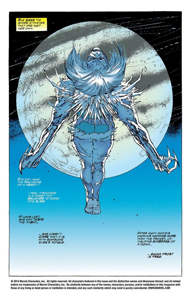 En un épisode : Emma Frost rejoint les Xmen et le lecteur découvre le potentiel infini du plus sous-estimé des Xmen : Iceberg Marvel Comics