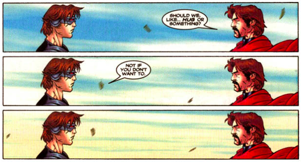 Même si j'aime mon père, je ne le comprendrais jamais. (C) Marvel Comics