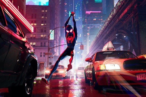 Fonce gars ! Source : Spider Man News : https://spidermannews.com/2018/12/13/spider-man-into-the-spider-verse-stills/ ©Sony Pictures