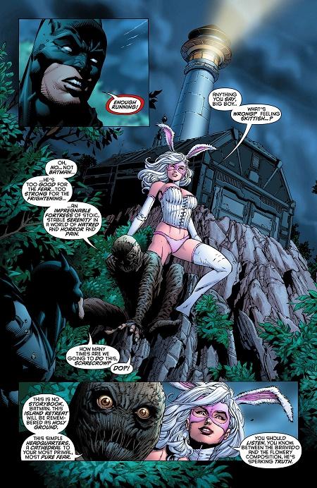 White Rabbit, une vilaine insaisissable que l'on n'a pas revue depuis… © DC Comics