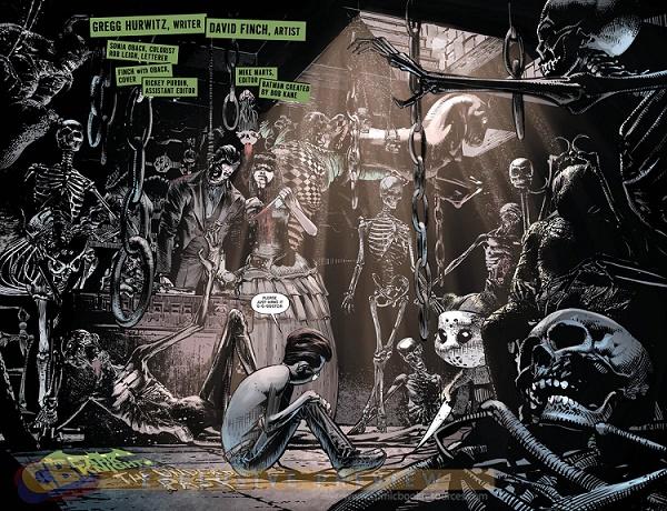 Les origines, version DARK. © DC Comics