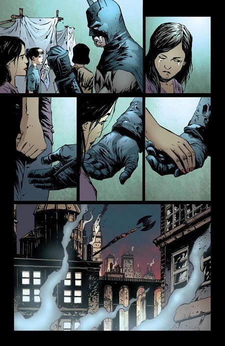 Pas un mot... © DC Comics