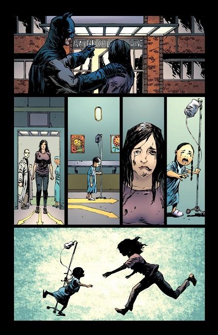 Quand Batman donne dans le social... © DC Comics