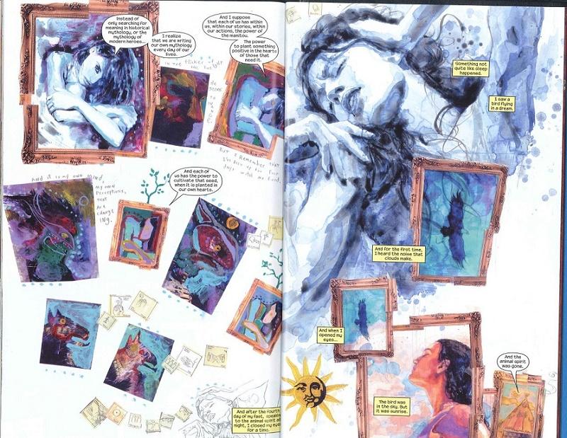 La ballade de Maya... © Marvel Comics