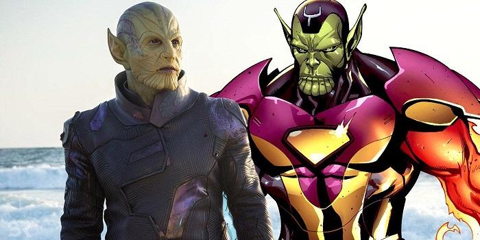 Des Skrulls plus vrais que nature.  © Marvel Studios