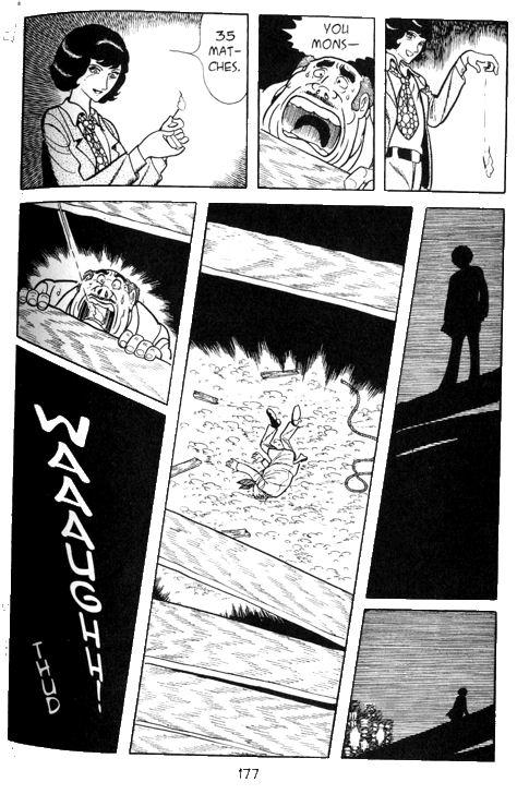 Yuki aime torturer ses victimes : ici, il raconte à un père l'agonie de la femme qu'il a exectutée et dont il a pris l'apparence.  ©Shōgakukan / Vertical