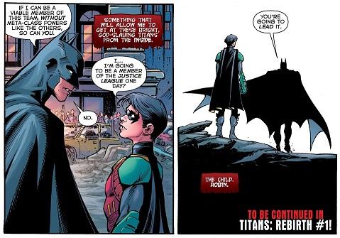 Une voie déjà tracée… ©DC Comics