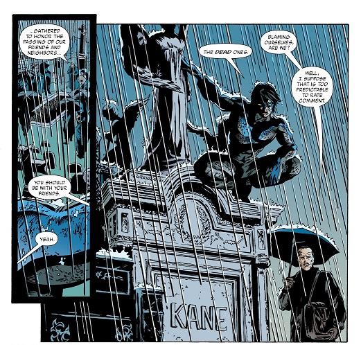 Hommage à Bob Kane au passage ©DC Comics