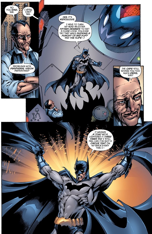 Problèmes d'ajustement… ©DC Comics