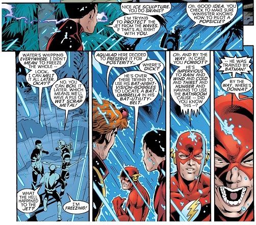 Un petit peu agaçant, le leader des Titans? ©DC Comics