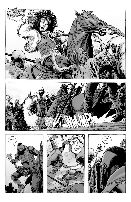 Les zombies attaquent encore.  © Image Comics / Delcourt