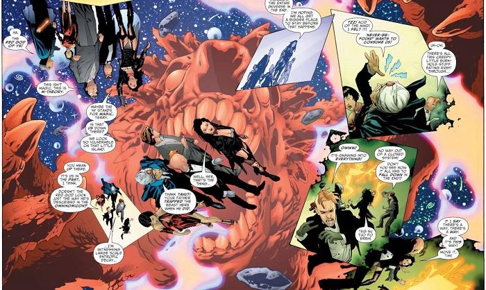 Une Zatanna qui se croit chez le Dr Strange (voire chez Promethéa) ! (par Ryan Sook) © DC Comics